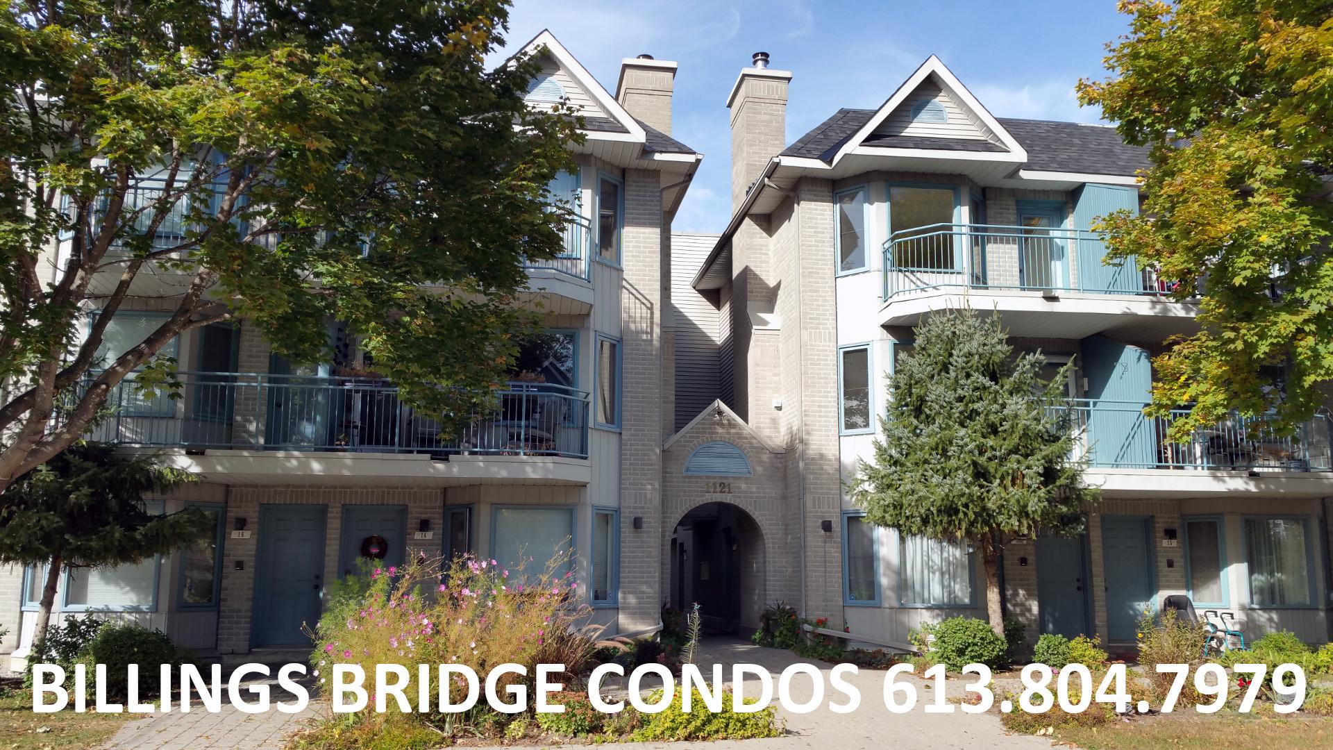 Ottawa Condos For Sale Billings Bridge 1121 Bavlie Avenue