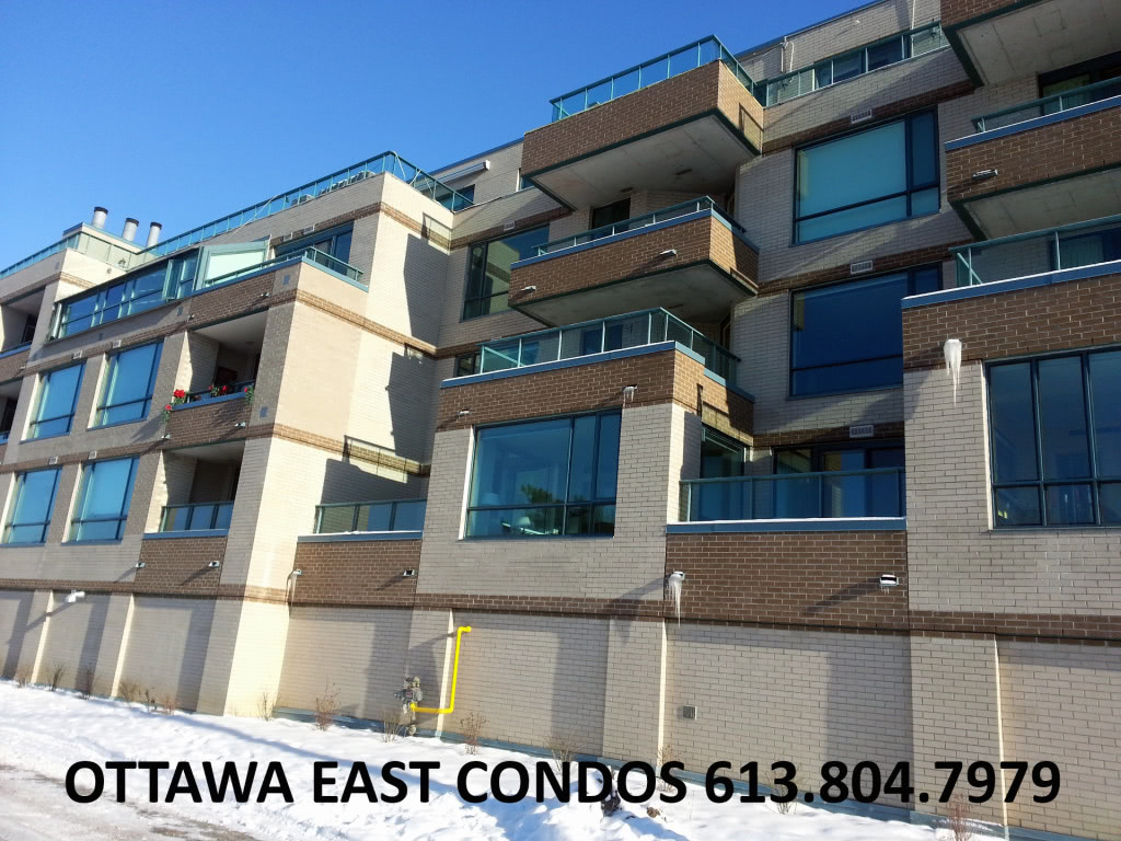 Ottawa Condos for Sale Ottawa East 123 Echo Drive