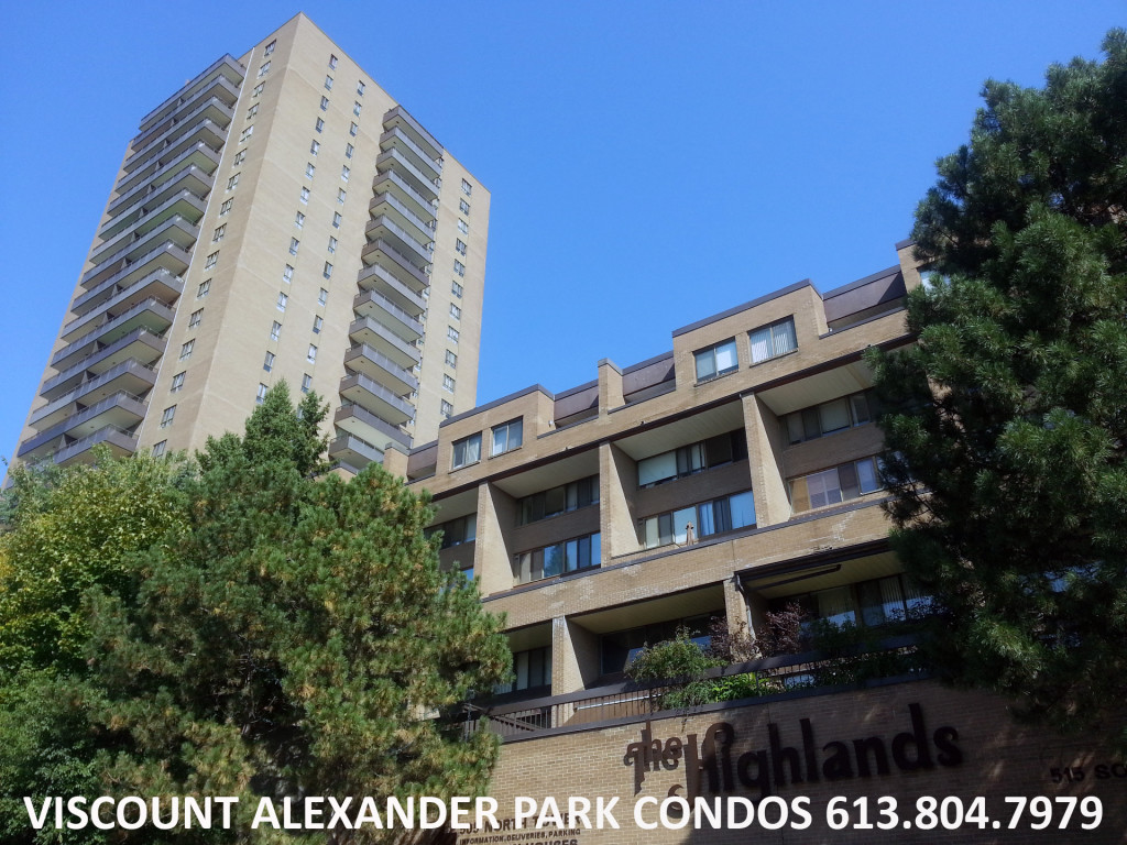 Condos Ottawa Condominiums Viscount Alexander Park