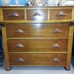Walnut Dresser $650