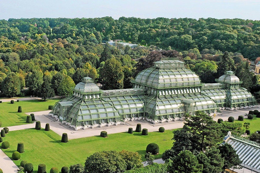 Greenhouses around the world for Architectural greenhouse
