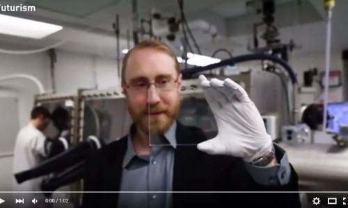 Fully Transparent Solar Cell