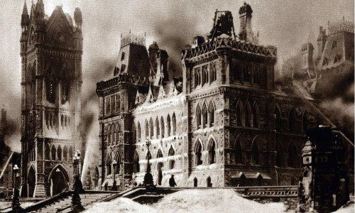 Parliament Hill Fire – 100 Years ago Today