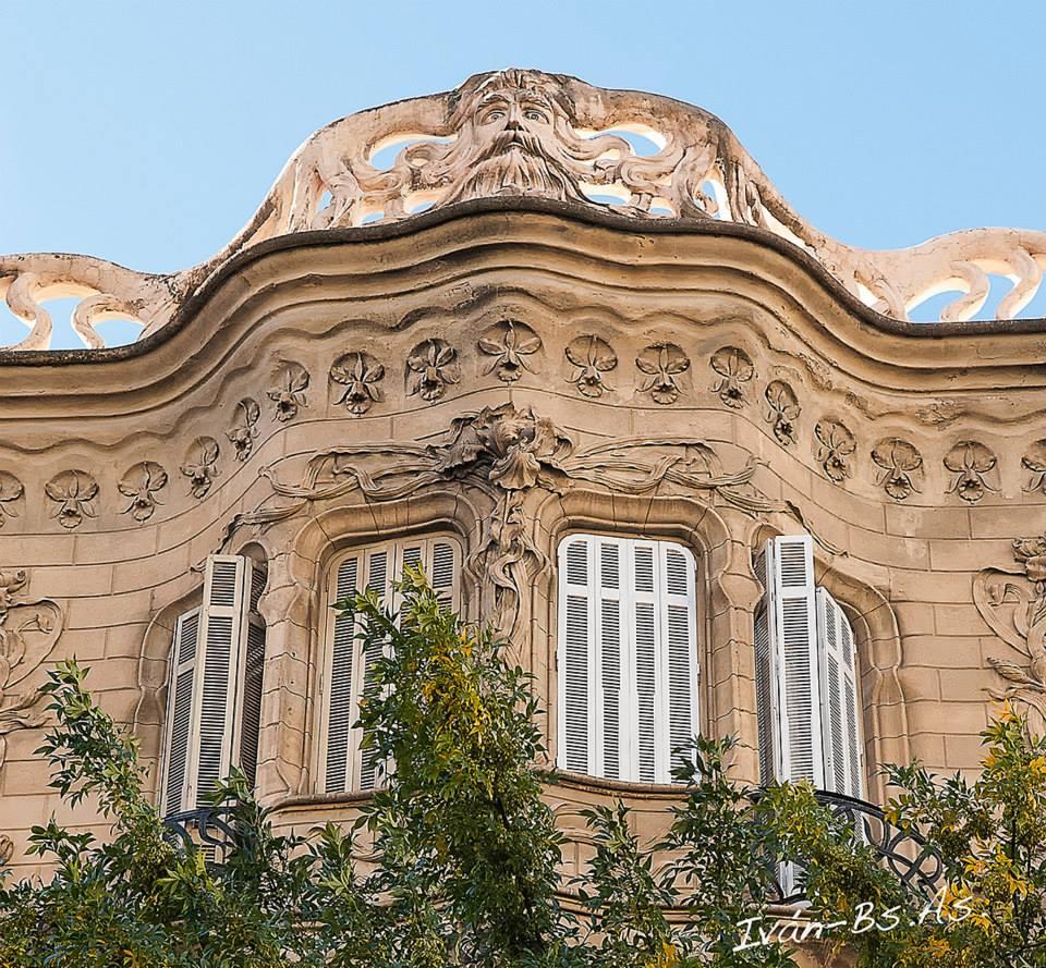 Architecture art nouveau style for Architecture art nouveau