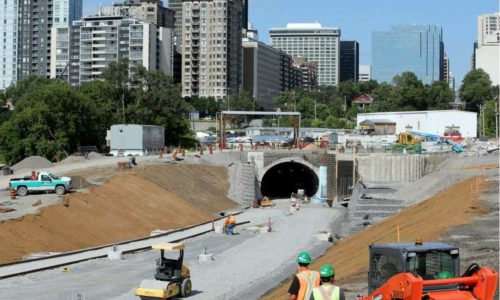 The Confederation LRT Line Takes Shape
