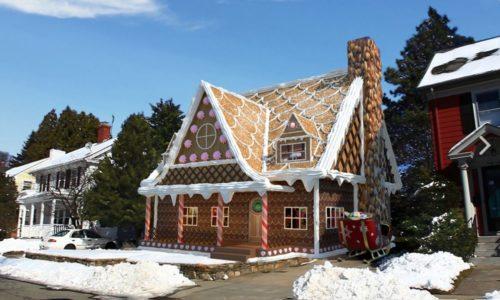 Toy Village House for Sale <br>Reindeer District <br>25 Cringewood Drive