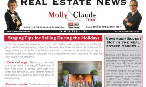 Real Estate Newsletter December 2017