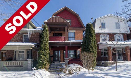 SOLD Firm in 5 Days <br>Ottawa Duplex for Sale <br>Hintonburg <br>133 Bayswater Avenue <br>$850,000