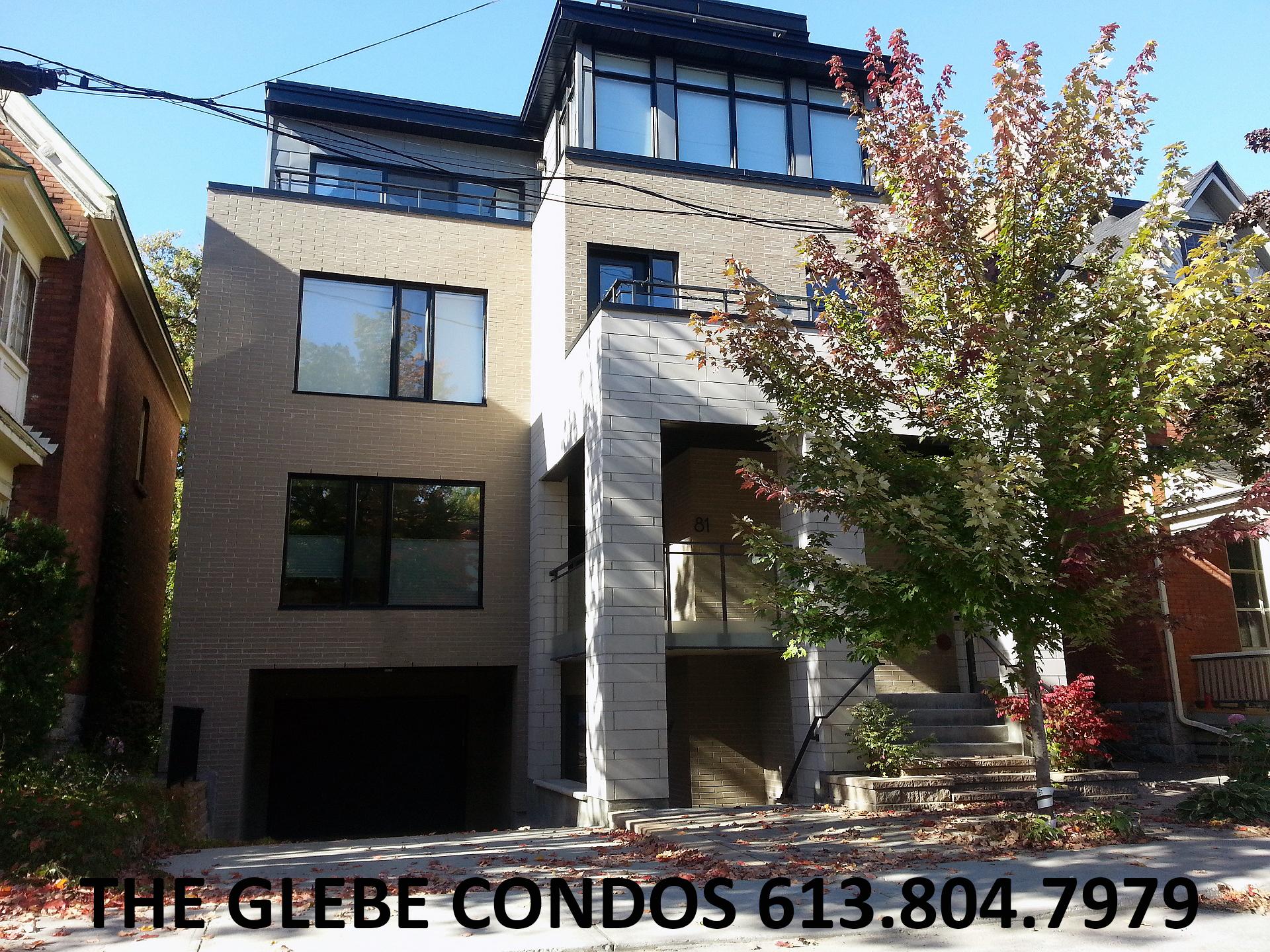 Ottawa Condos For Sale The Glebe 81 Fourth Avenue